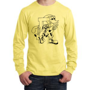 Yellow LS Tee